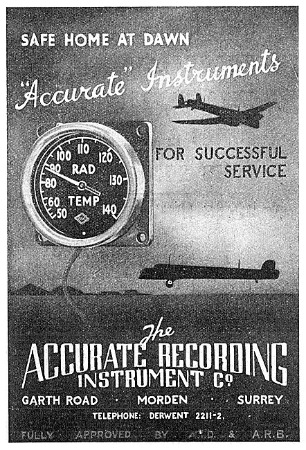 Accurate Co -  Aircraft Indicating & Recording Instruments