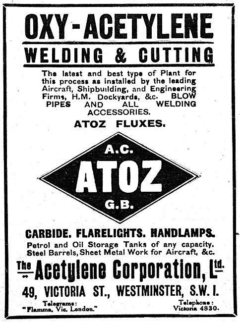 The Acetylene Corporation - Oxy-Acetylene Plant