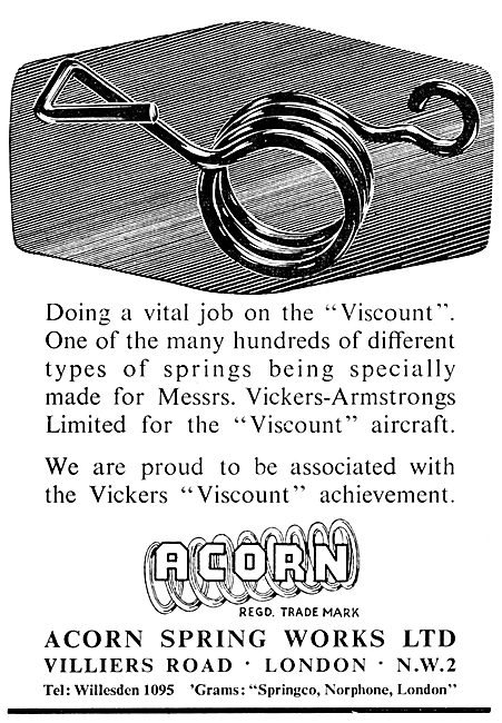 Acorn Spring Works - Springs For Aviation