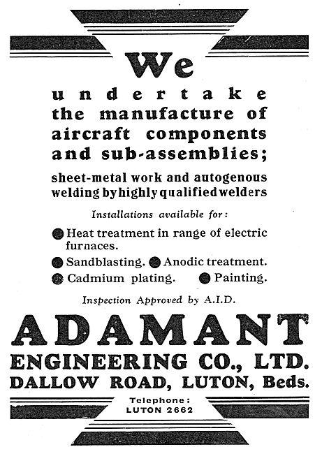 Adamant Engineering - Dallow Rd Luton. Sheet Metal Work