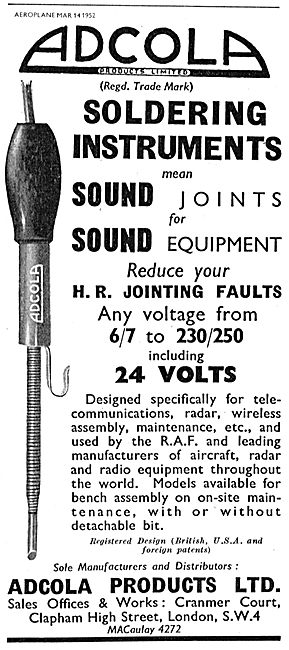 Adcola Soldering Instruments