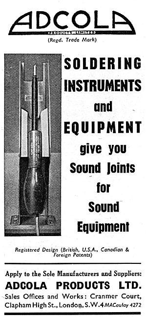 Adcola Soldering Instruments & Equipment