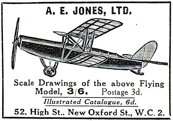 A.E.Jones Ltd Scale Drawings & Models
