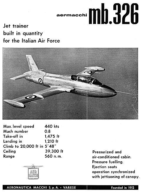 Aer Macchi - Aermacchi MB.326