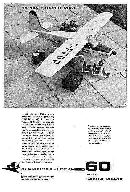 Aermacchi-Lockheed 60 (Santa Maria) Light Aircraft