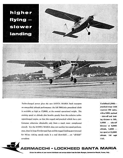 Aermacchi Santa Maria Light Aircraft