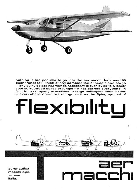 Aer Macchi Lockheed 60 Bush Transport