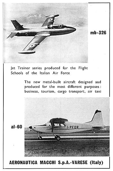 Aer Macchi MB-326 - Aermacchi AL-60