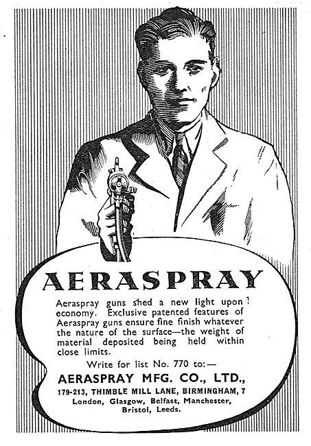 Aeraspray Spray Finishing Equipment For Aircraft