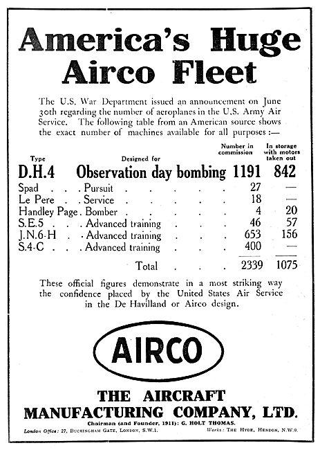 The Aircraft  Manufacturing Company - Airco