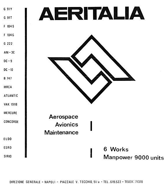 Aeritalia Aerospace 1972