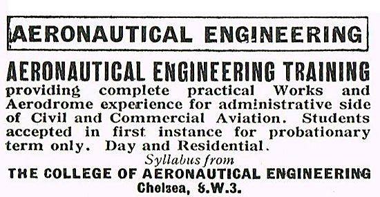 Aeronautical Engineering Training At CAI