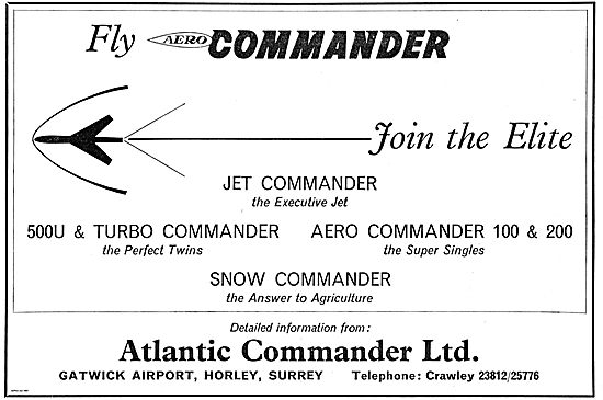 Atlantic Commander For Jet Commander & Snow Commander