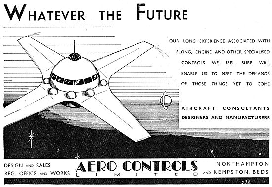Aero Controls Ltd. Northampton - Aircraft Consultants & Designers