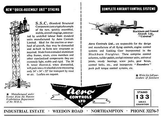 Aero Controls Aircraft Controls 1953