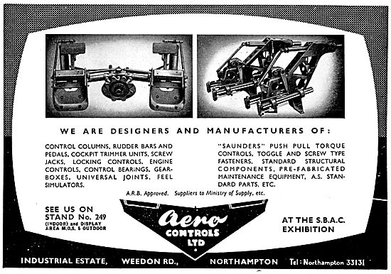 Aero Controls Aircraft Controls 1957
