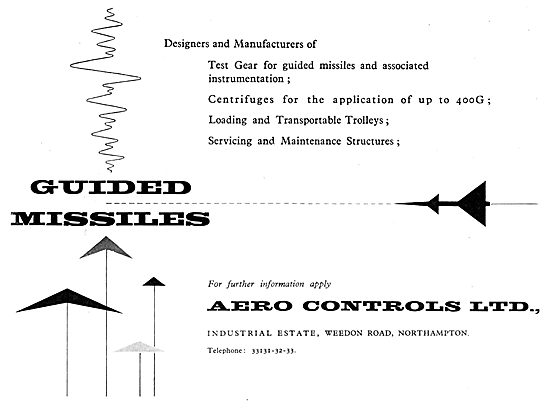 Aero Controls Guided Missile Controls