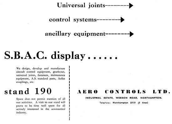 Aero Controls. Aircraft Control Equipment
