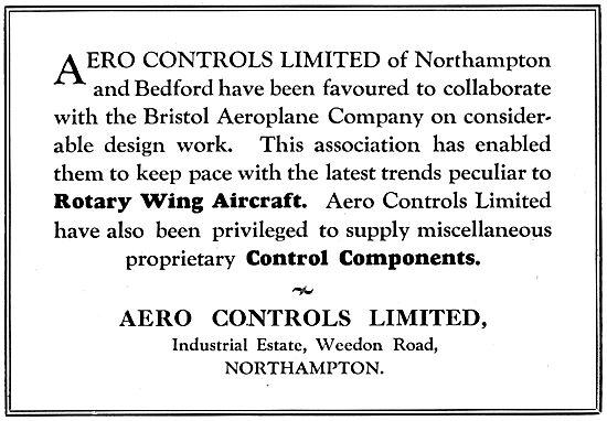 Aero Controls  - Control Components
