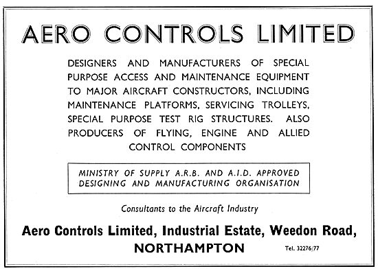Aero Controls Ltd  - Control Components