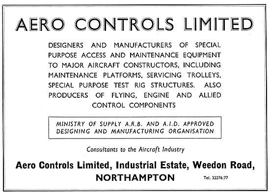 Aero Controls Ltd  - Control Components