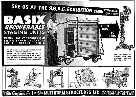 Aero Controls Multiform Basix Recoverable Staging Units