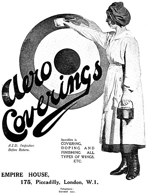 Aero Coverings Ltd - Component Painting & Doping Services