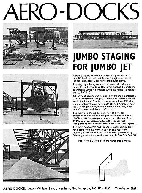 Aero-Docks Maintenance Staging