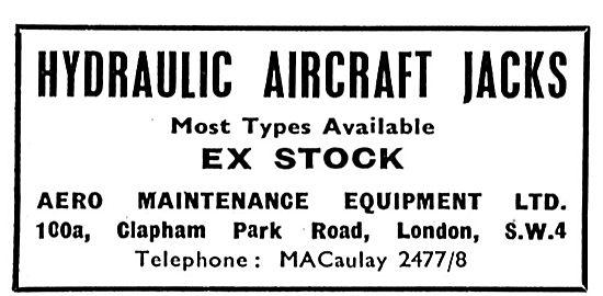 Aero Maintenance Have Hydraulic Aircraft Jacks In Stock
