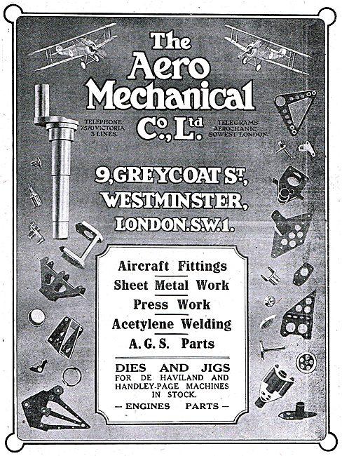 The Aero Mechanical Company - Metall Fittings & Dies