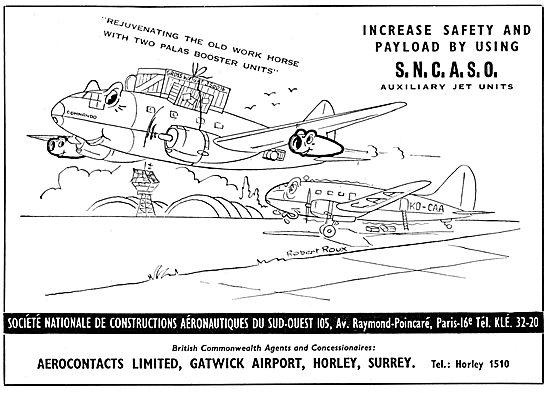 Aerocontacts Gatwick :S.N.A.S.C.O. APU's. SNASCO APU
