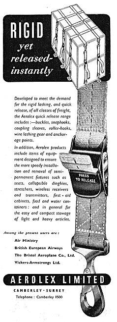 Aerolex Safety Belts & Cargo Lashing Straps