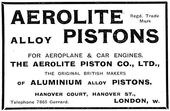 Aerolite Aluminium Alloy Aero Engine Pistons