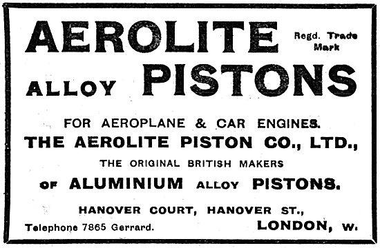 Aerolite Aluminium Alloy Pistons