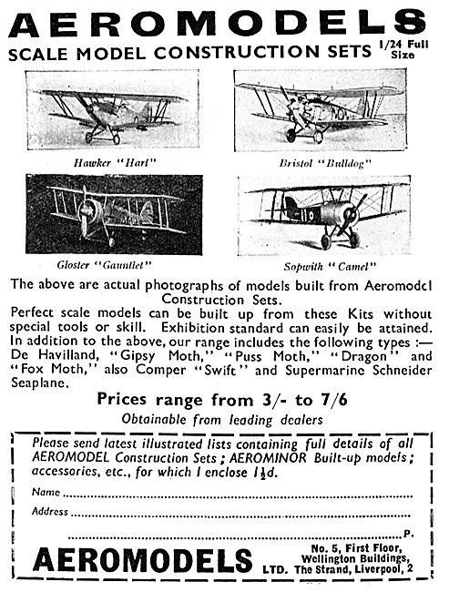 Aeromodels Scale Aircraft Models