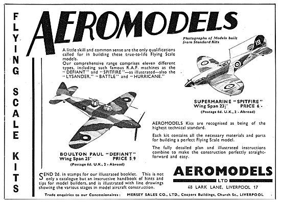 Aeromodels Flying Scale Model Aircraft - Defiant Spitfire