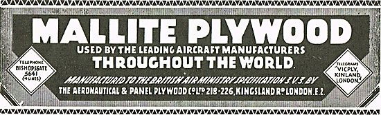 Mallite Plywood From Aeronautical And Panel