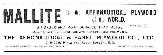 Aeronautical & Panel Mallite Plywood