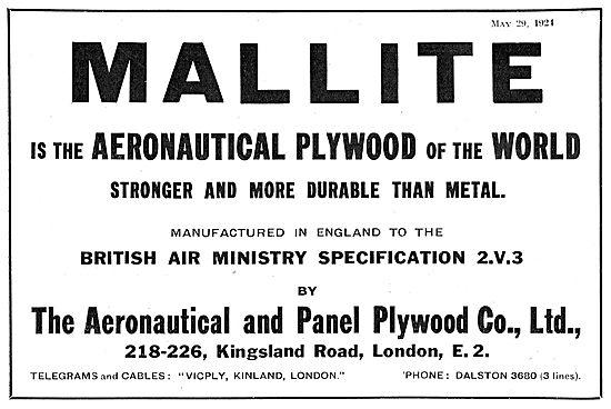Aeronautical and Panel Mallite Plywood