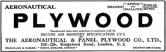 Aeronautical and Panel Plywood