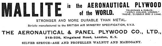 Mallite Aeronautical Plywood