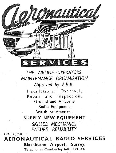 Aeronautical Radio Services Blackbushe Airport