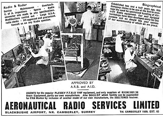 Aeronautical Radio Services - Avionics Repairs & Servicing