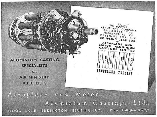 Aeroplane & Motor Aluminium Castings