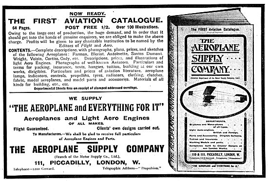The Aeroplane Supply Company For All Your Aeroplane Needs.