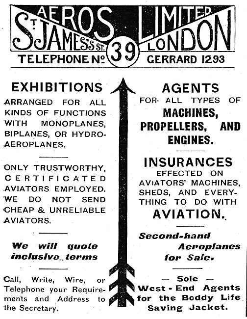 Let Aeros Ltd  Arrange Your Aerial Exhibition & Displays