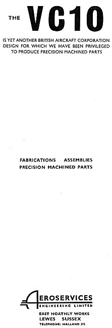 Aeroservices Engineering Ltd.  Fabrications, Assemblies & Parts
