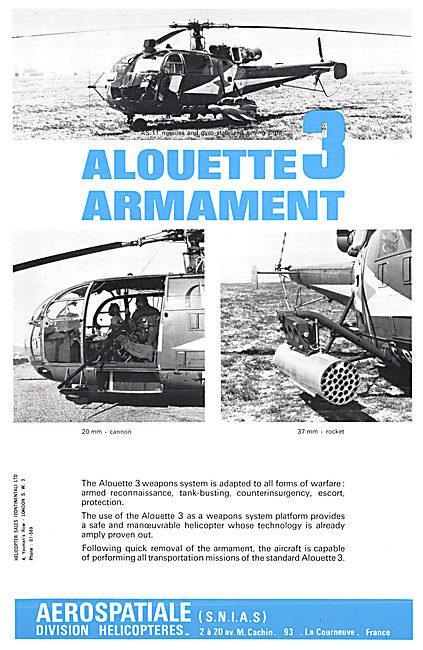 Aerospatiale  SA 316 B Alouette 3
