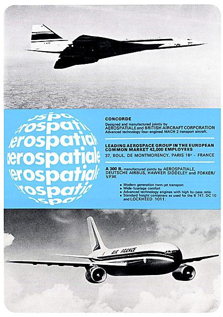 Aerospatiale Concorde Aerospatiale A300B Airbus