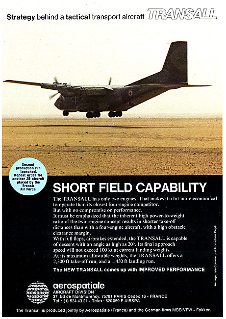 Aerospatiale MBB Transall